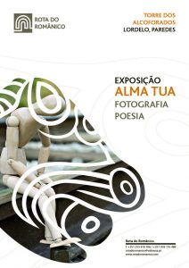 Cartaz da exposição na Torre dos Alcoforados